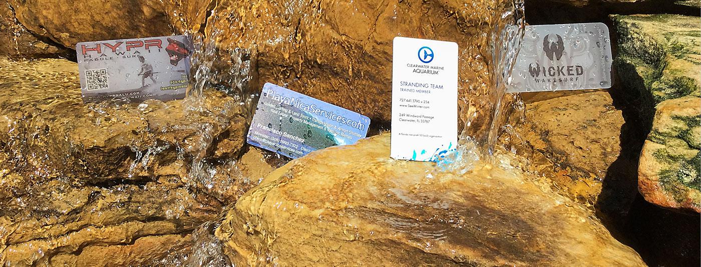 Premium Waterproof Cards