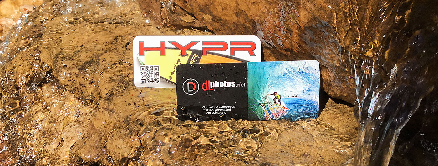 Slim-Mini Waterproof Cards