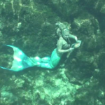 mermaid reading underwater 5