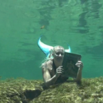 mermaid underwater reading2